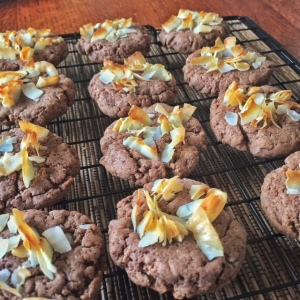 Double Coco Cookies - Vegan, Paleo